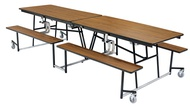 National Public Seating Mobile Cafeteria Tables with Seats