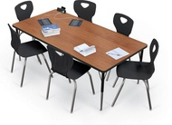 MooreCo Classroom Rectangular Activity Tables