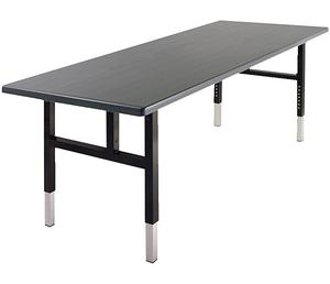 Southern Aluminum Folding Table Short Adjustable Leg 36 X 72