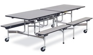 Mobile Cafeteria Tables