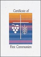 Communion Certificates