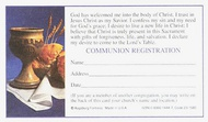 Communion Record/Registration Cards
