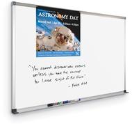 Dura-Rite® Whiteboard 20 Year Deluxe Aluminum Frame