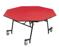 Mobile Flip Top Cafeteria Tables