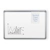 Tuf-Rite® Whiteboard 5 Year Silver Presidential Frame + Tackless Paper Holder