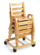 Wood Preschool Chairs