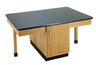 Double Face Science Cabinet Tables