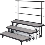 Standing Choral Risers Carpeted - Midwest Folding