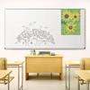 Tuf-Rite® Whiteboard 5 Year ABC Aluminum Frame + Map Rail