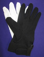 Jeffers Ultima Handbell Gloves with Plastic Dots