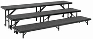 Standing Choir Risers Carpeted - National Public Seating