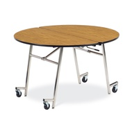 Moblie Center Folding Cafeteria Tables without Seats