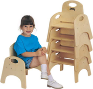Wood Preschool Chairs