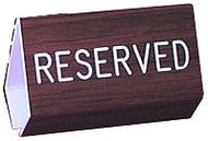 Reserved Pew Signs