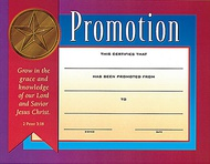 Promotion & Attendance Certificates
