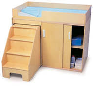 Freestanding Nursery Changing Tables