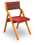 Wood Framed Folding Chairs