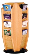 Rotating Literature Racks