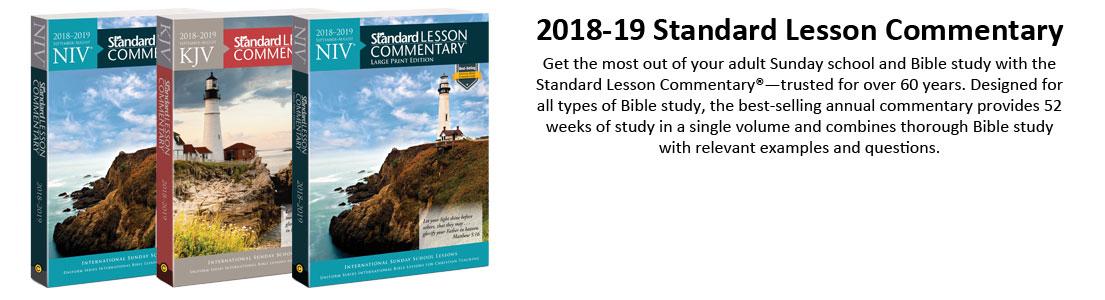 Standard Lesson Commentaries | Church Partner