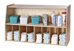 Keep Useful Supplies Handy And Away From Probing Hands With One Of Our Attractive Efficient Nursery Wall Storage Shelves Choose Naturally Stained Or