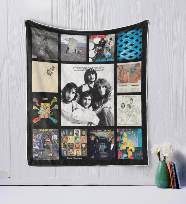The Who Quilt Blanket
