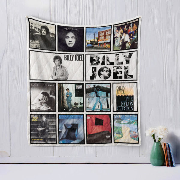 Billy Joel Quilt Blanket