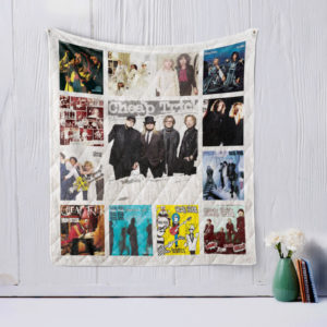 Cheap Trick Quilt Blanket