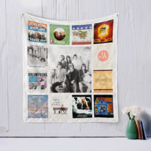 Jefferson Airplane Quilt Blanket