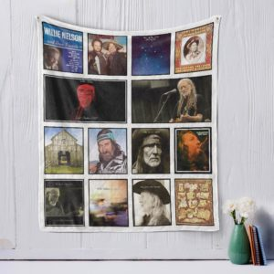 Willie Nelson Quilt Blanket
