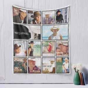 Kenny Chesney Quilt Blanket
