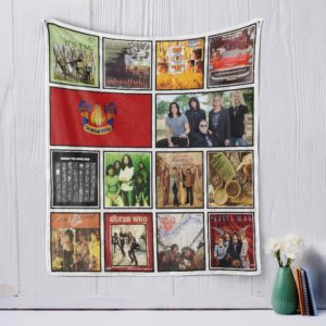 The Guess Who Quilt Blanket
