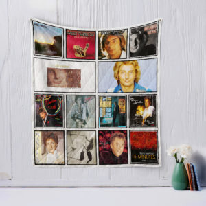 Barry Manilow Quilt Blanket