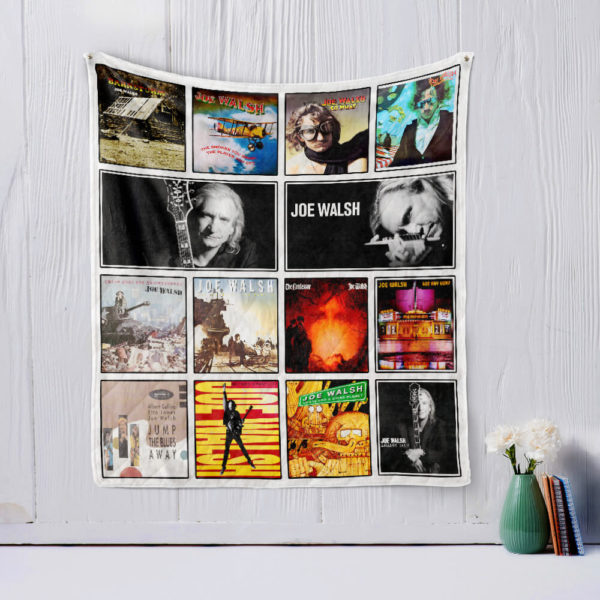 Joe Walsh Quilt Blanket