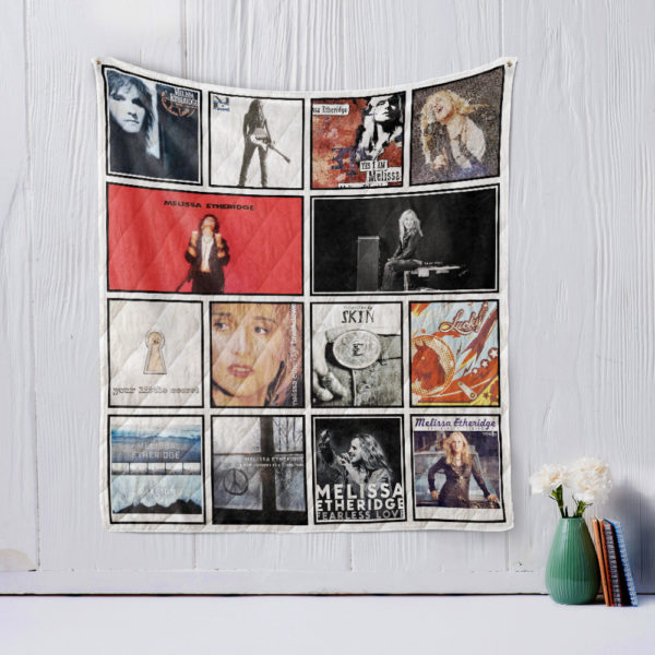 Melissa Etheridge Quilt Blanket