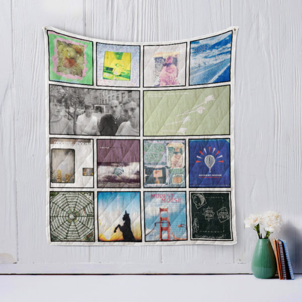 Modest Mouse Quilt Blanket