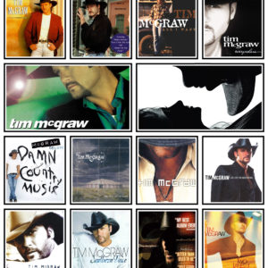 Tim McGraw Quilt Blanket