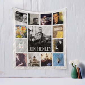 Don Henley Quilt Blanket