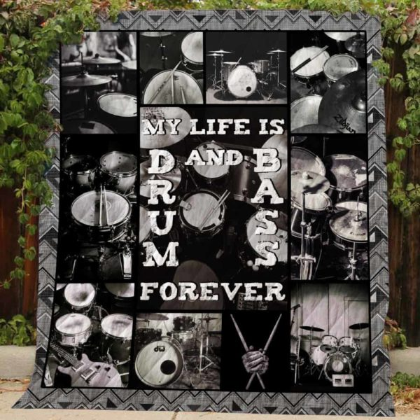 My Life Is Drum And Dass Quilt