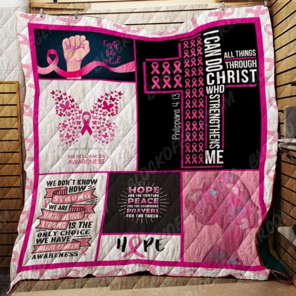 Fight Like A Girl Quilt