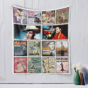 Hank Williams Quilt Blanket