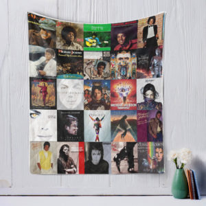 Michael jackson Style Three Quilt Blanket