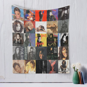 Janet Jackson Style Two Quilt Blanket