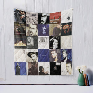 George Michael Quilt Blanket