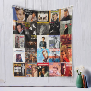 Bobby Darin style two Quilt Blanket