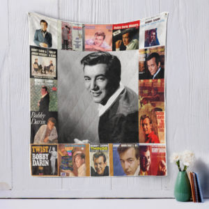 Bobby Darin style three Quilt Blanket