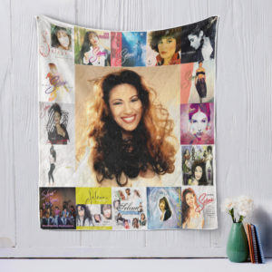 Selena-style-two Quilt Blanket