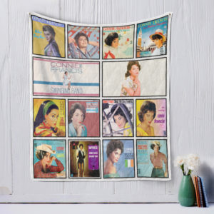 Connie Francis Quilt Blanket