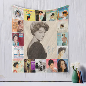 Connie Francis-style-three Quilt Blanket
