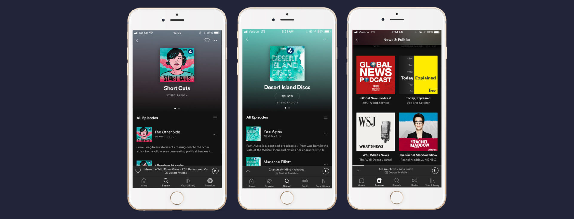 Your Favourite BBC Podcasts, Now on Spotify in the UK — Spotify