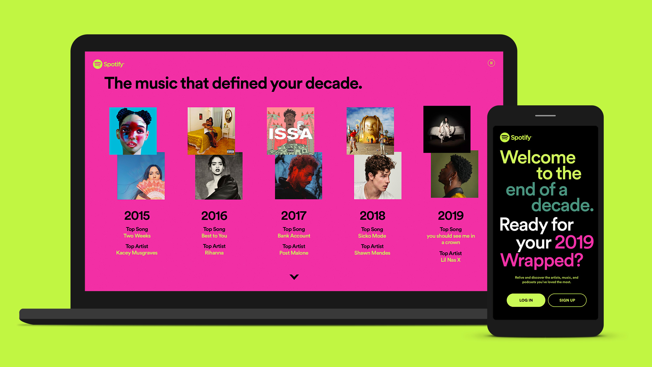 Spotify Wrapped Consumer PR 03 Decade Hmpg